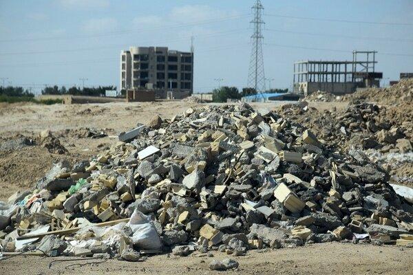 جمعآوری روزانه ۶ هزار تن پسماند ساختمانی در شیراز