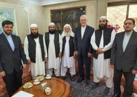 حضور هیاتی از طالبان در سفارت ایران