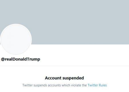 توییتر حساب ترامپ را به طور دائمی بست