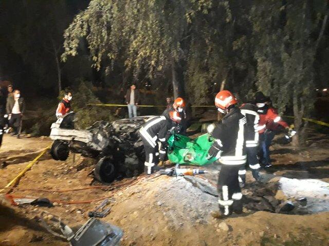 واژگونی خودرو در شیراز ۲ کشته به دنبال داشت