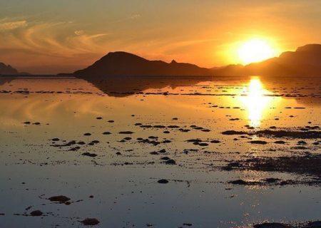 باتلاقی شدن دریاچه بختگان نیریز در پی بارندگیهای اخیر