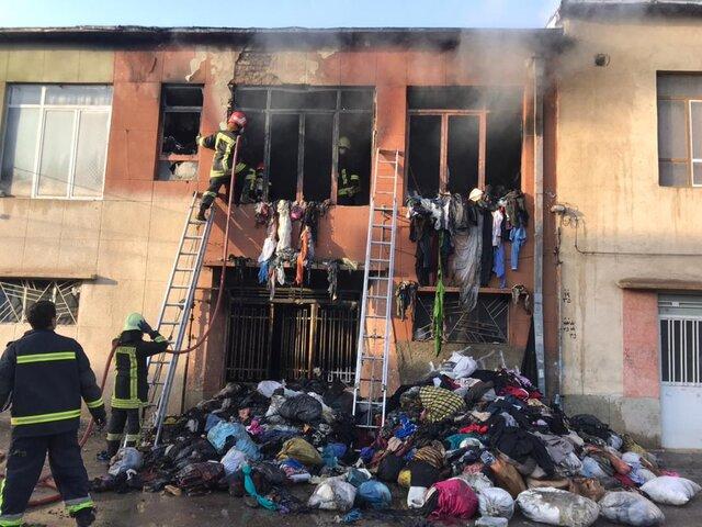 آتشسوزی در شیراز یک کشته برجای گذاشت