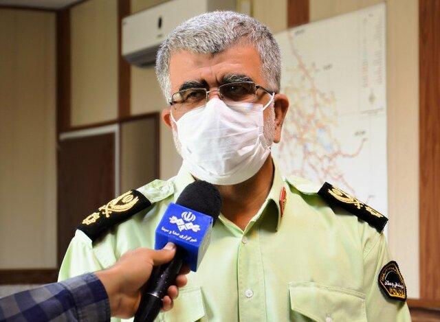 کشف محموله تریاک زیر بار آهن در شیراز