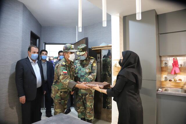 مجتمع مسکونی کارکنان ارتش در فارس به بهرهبرداری رسید