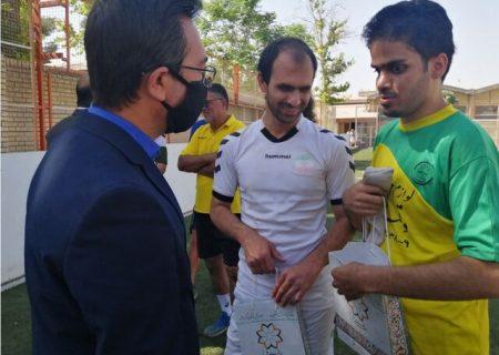 آمادگی شهرداری شیراز برای حمایت از فوتبال نابینایان