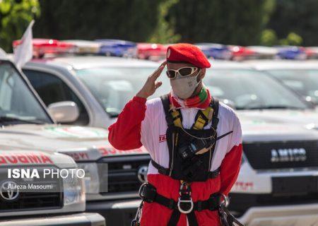 امدادرسانی هلال احمر فارس به ۲۵۱۸ حادثه دیده