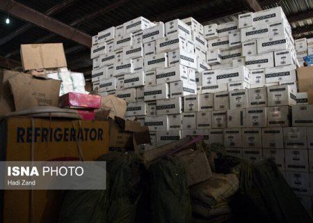 کشف دپو کالای قاچاق در شیراز