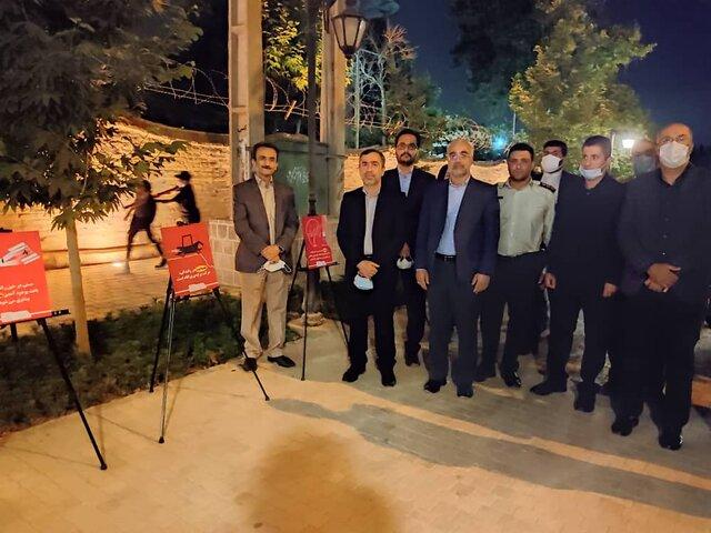 نمایشگاه پیشگیری از آسیبهای اجتماعی در شیراز برپا شد