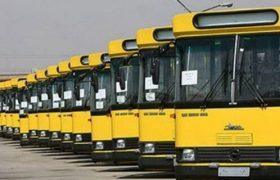 توقف خدمت رسانی بخشی از ناوگان حمل و نقل در شیراز