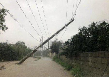 خسارت جانی و مالی وقوع طوفان در فارس