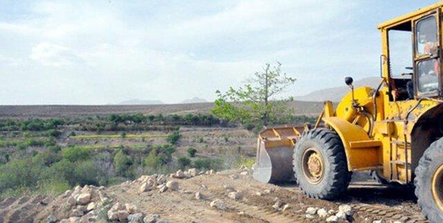 رفع تصرف از ۶۴ هزار مترمربع اراضی ملی در فارس