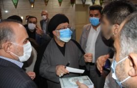 بازدید مقام ارشد قضایی فارس از زندان شیراز