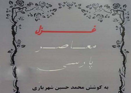 """رونمایی از کتاب """"غزل معاصر پارسی"""" در شیراز"""