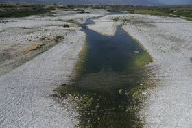 خشکی رودهای بالادست تالاب بختگان