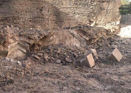 یک سازه قدیمی در بافت تاریخی شیراز کشف شد