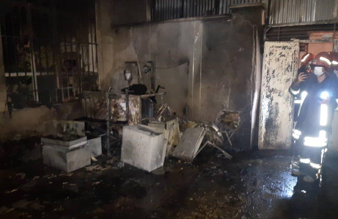 انفجار خانه در شیراز باعث مصدومیت یک نفر شد