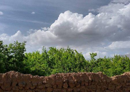رگبارهای پراکنده در فارس