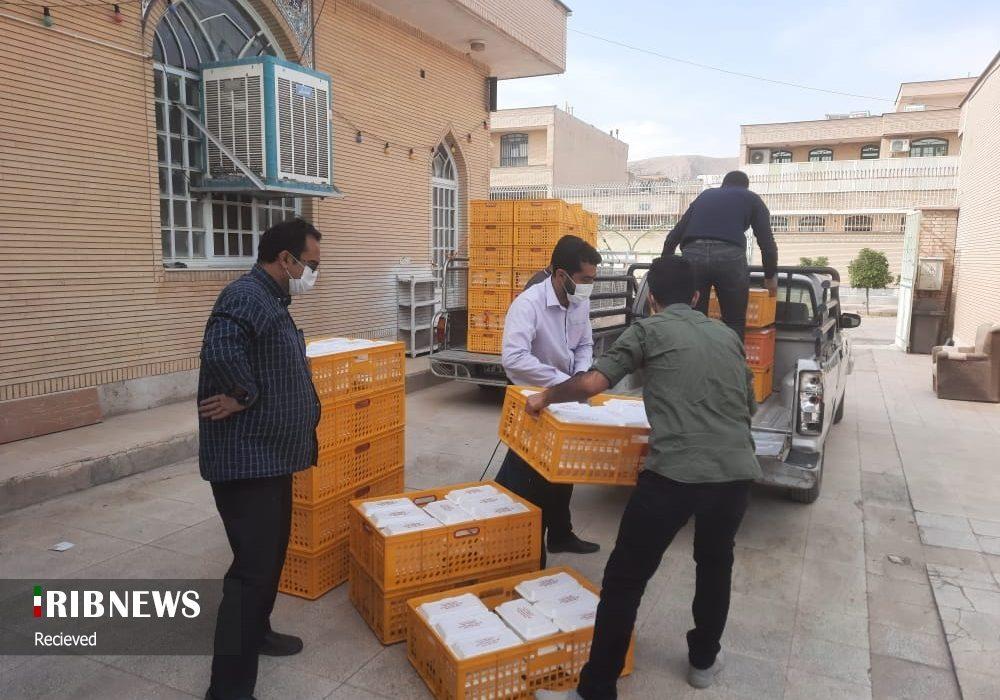 توزیع ۱۰ هزار وعده غذای گرم در حاشیه شهر شیراز