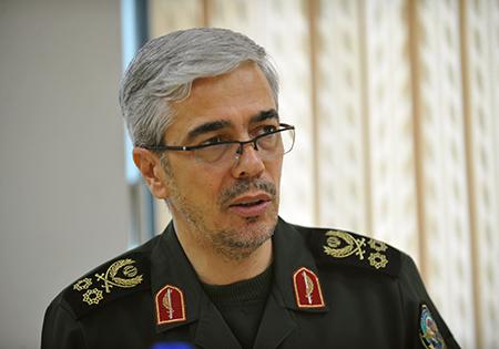 فرمانده ستاد کل نیروهای مسلح به تروریستها و حامیانشان هشدار داد