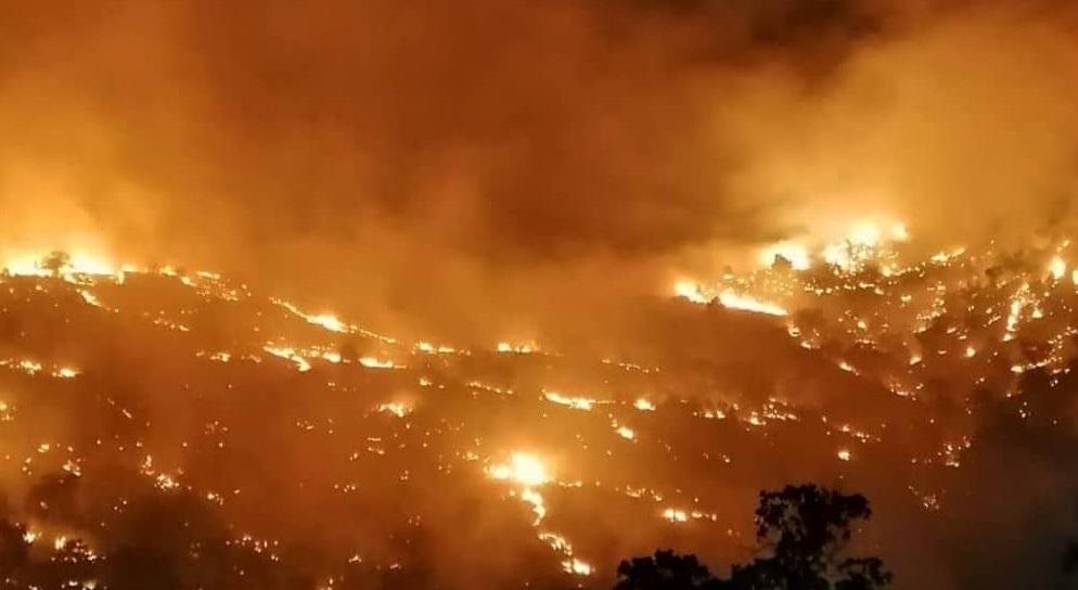 فراخوان بسیج همگانی مهار آتشسوزی منابع طبیعی در فارس