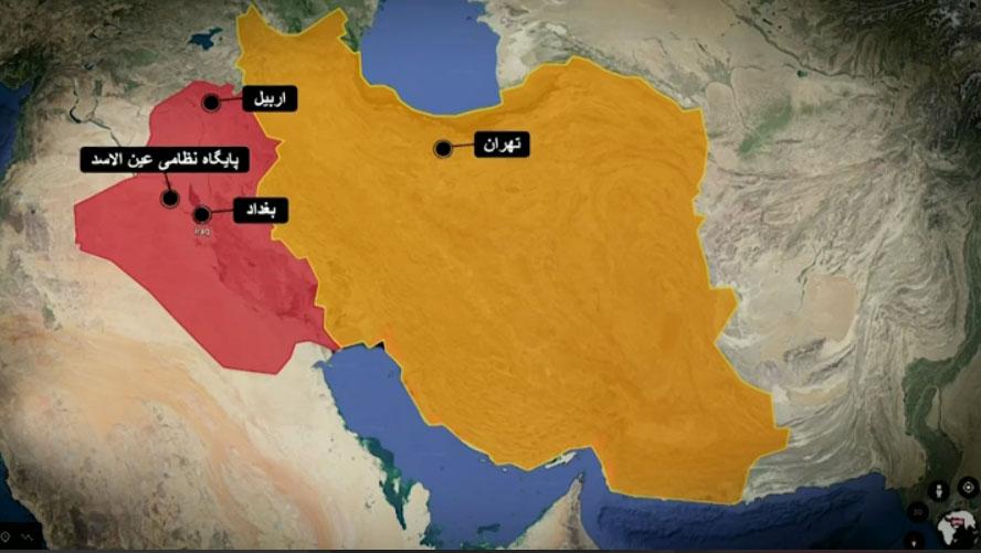 جزییاتی از حمله ایران به پایگاه آمریکاییها در عراق