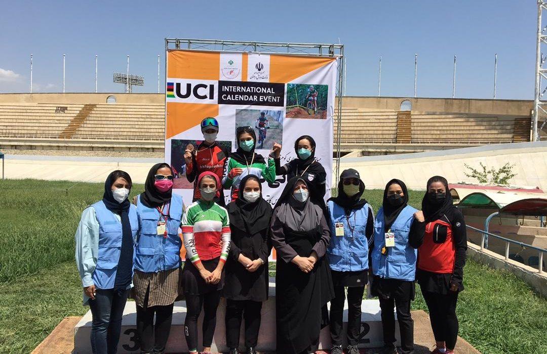 دختران فارس در جایگاه سوم دوچرخه سواری کوهستان کشور