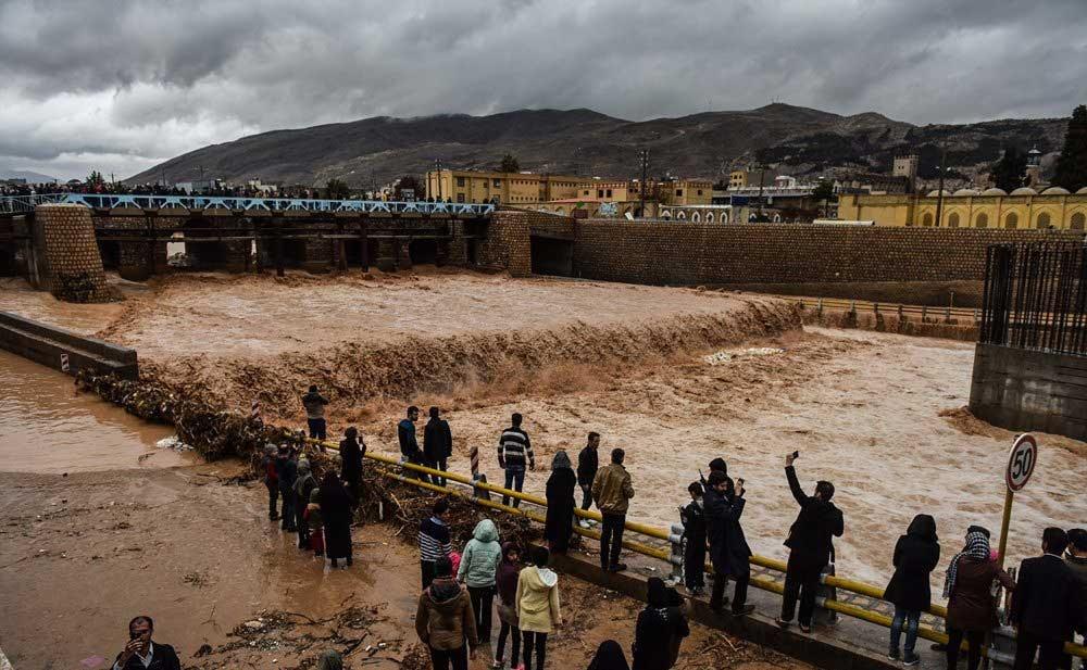 «رودخانه خشک شیراز میتواند جاذبه گردشگری شود»