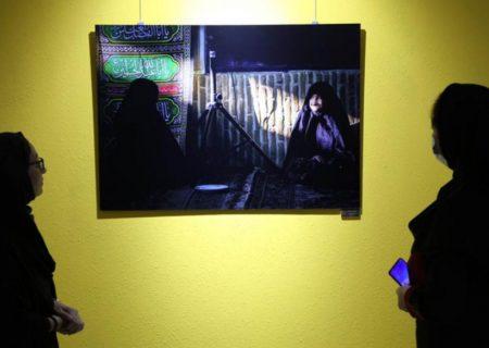 برپایی سوگواره عکس عاشورایی در گراش