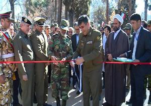 افتتاح فاز نخست بیمارستان ارتش در شیراز