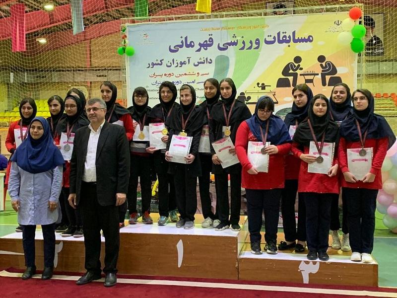 دانش آموزان فارس قهرمان مسابقات شطرنج ایران شدند