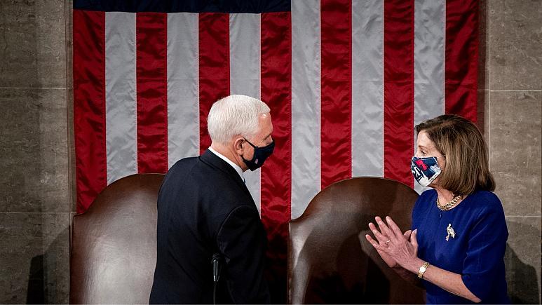 مجلس نمایندگان آمریکا از مایک پنس خواست دونالد ترامپ را از ریاست جمهوری برکنار کند