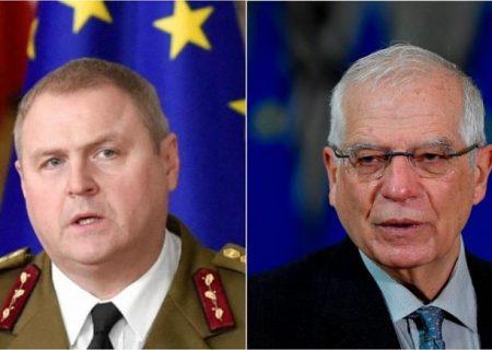 """درخواست بیش از ۵۰ نماینده پارلمان اروپا: بورل به دلیل سفر """"حقارتبار"""" به مسکو استعفا دهد"""