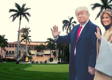 ترامپ پس از ترک کاخ سفید به ویلای مجللش در مارالاگوی فلوریدا می رود