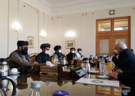 مذاکرات همزمان طالبان در تهران و مسکو؛ ظریف: حامی ایده تشکیل حکومتی همه شمول در افغانستان هستیم