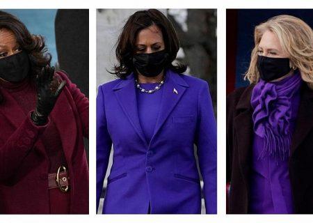 چرا زنان سیاستمدار رنگ بنفش را در مراسم تحلیف جو بایدن انتخاب کردند؟