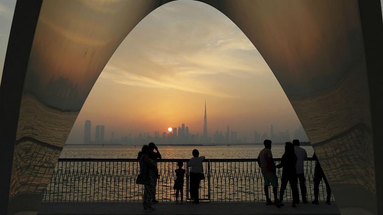 غروب تجارت بین ایران و امارات