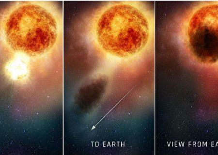 مخابره تصاویر ستاره۷۰۰ برابر خورشید؛ هابل راز توقف مرگ «شبانشانه» را فاش کرد