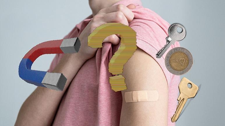 آیا واکسن کرونا بدن را آهنربا میکند؟