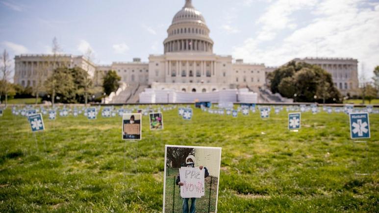 کرونا در ایالات متحده آمریکا بیش از ۴۰ هزار قربانی گرفت