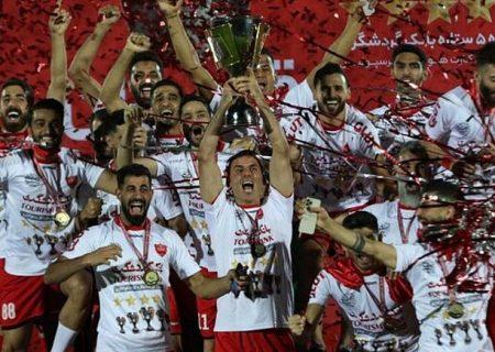 رستگاری در هفته پایانی؛ پرسپولیس برای پنجمین سال متوالی قهرمان لیگ برتر فوتبال ایران شد
