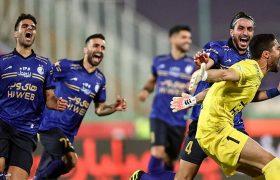 گام آبیهای پایتخت به سمت قهرمانی جام حذفی؛ پرسپولیس دربی را به استقلال باخت