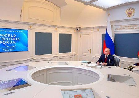 هشدار پوتین در نشست داووس: وضعیت کنونی مانند شرایط پیش از جنگ جهانی دوم است