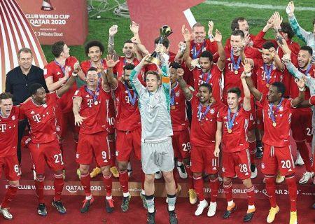 بایرن مونیخ قهرمان جام باشگاههای جهان شد