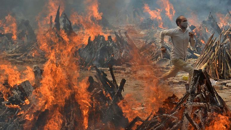 آمار مرگ و میر کرونا در هند به بیش از ۴ هزار نفر در روز رسید