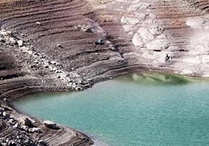 کاهش ۷۵ درصدی بارندگی در استان فارس