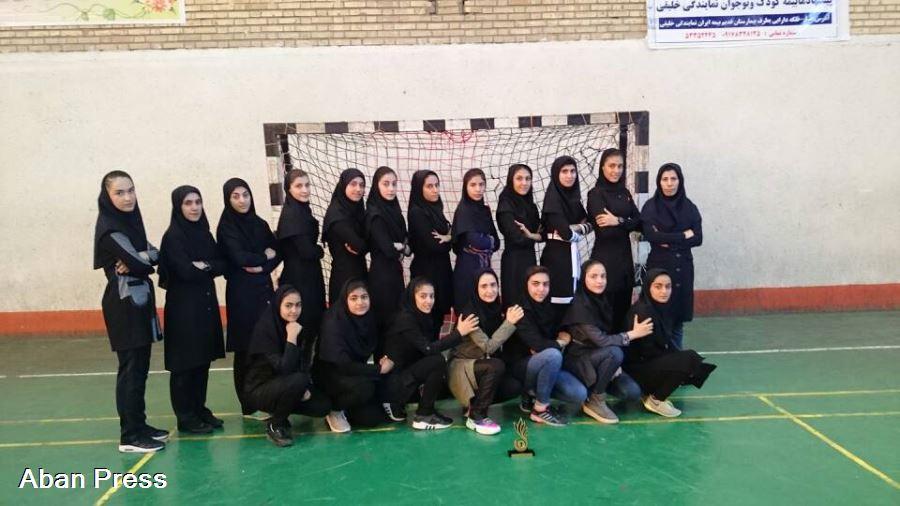 قهرمانی تیم هندبال فیروزآباد در مسابقات بانوان استان فارس