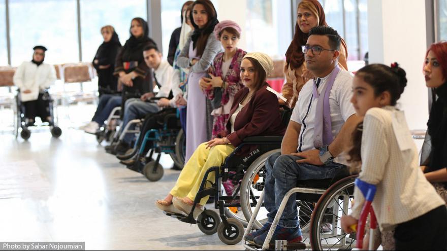 فشن شو معلولان در تهران