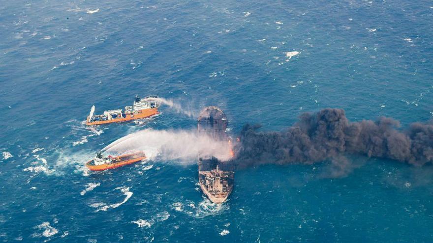 خطای انسانی؛ عامل مرگ ۳۲ دریانورد سانچی
