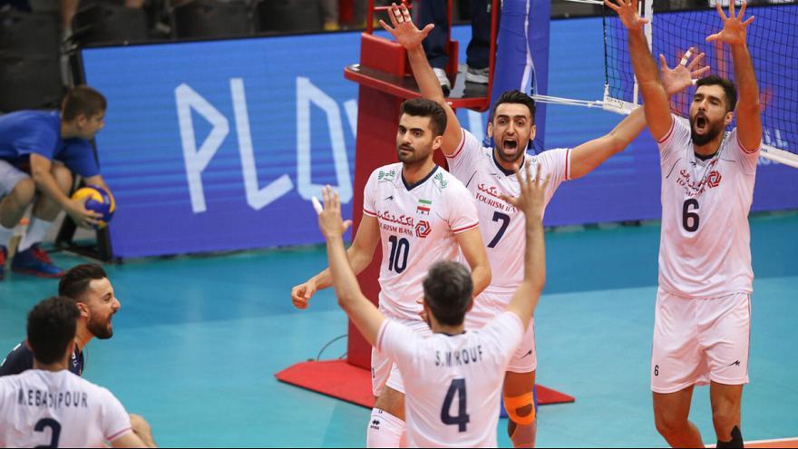 لیگ جهانی والیبال؛ ایران با شکست صربستان صعود کرد