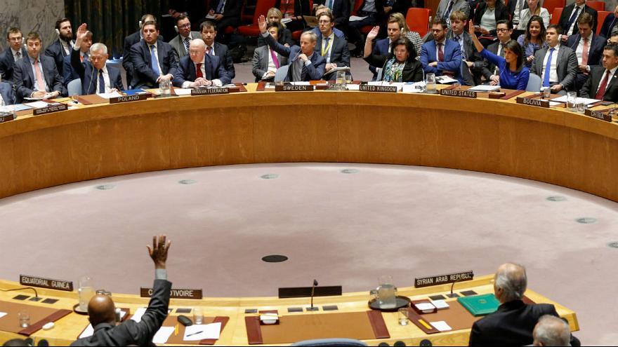قطعنامه پیشنهادی روسیه در مورد محکومیت حمله آمریکا و متحدانش به سوریه رای نیاورد
